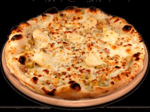 Pizzas base crème